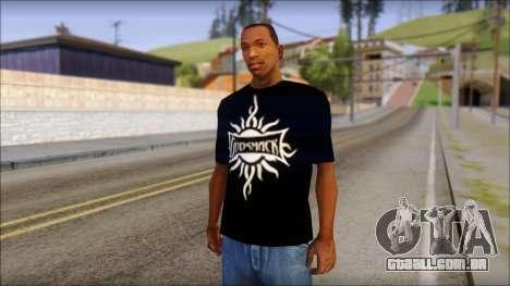 Godsmack T-Shirt para GTA San Andreas