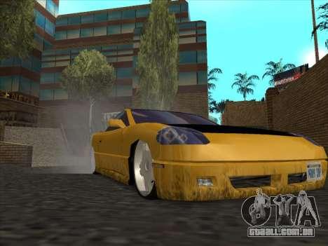 Alpha HD Cabrio para GTA San Andreas vista traseira