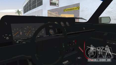 Volvo 242 Turbo Evolution para GTA Vice City vista traseira