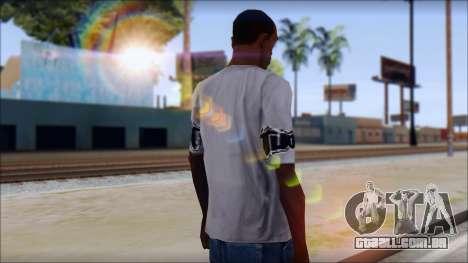 Tapout T-Shirt para GTA San Andreas segunda tela