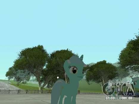Lyra para GTA San Andreas por diante tela