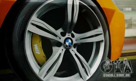 BMW M6 F13 2013 para as rodas de GTA San Andreas
