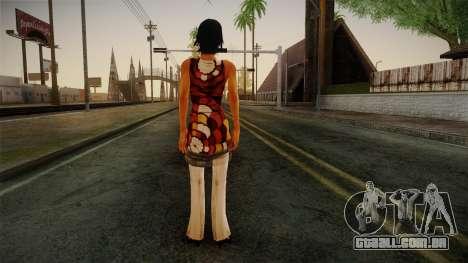Billie from Stranglehold para GTA San Andreas segunda tela