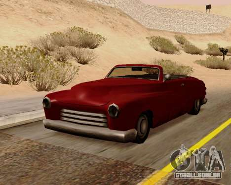 Hermes Conversível para GTA San Andreas