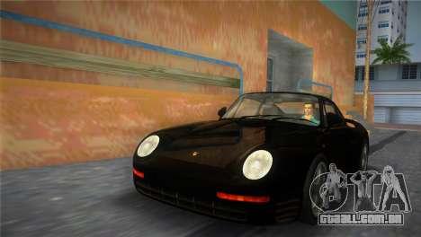 Porsche 959 1986 para GTA Vice City