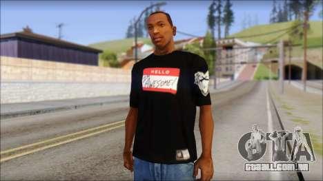 I am Awesome T-Shirt para GTA San Andreas