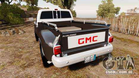 GMC 454 Pick-Up para GTA 4 traseira esquerda vista
