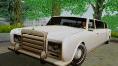 Stafford Limousine limousine para GTA San Andreas