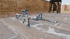Automático carabina MA neve Derretida Camo