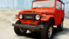 Toyota FJ40 Land Cruiser 1978 Beta para GTA 4