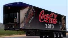 Trailer Chereau Coca-Cola Zero Caminhão