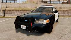 Ford Crown Victoria Sheriff [ELS] Marked para GTA 4