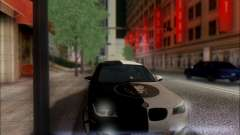 BMW M5 E60 preto para GTA San Andreas