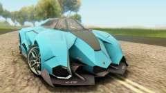 Lamborghini Egoista Concept 2013