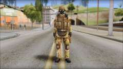 Desert GIGN from Soldier Front 2 para GTA San Andreas