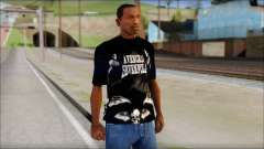 A7X Deathbats Fan T-Shirt Black para GTA San Andreas