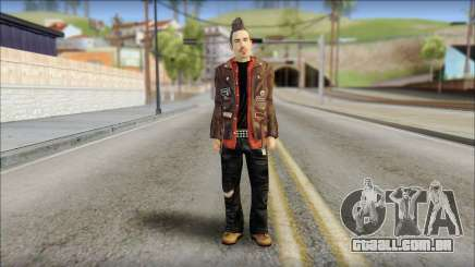 Biker from Avenged Sevenfold 3 para GTA San Andreas