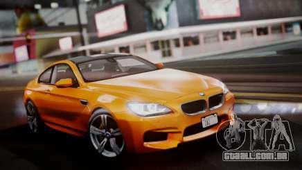 BMW M6 F13 2013 para GTA San Andreas