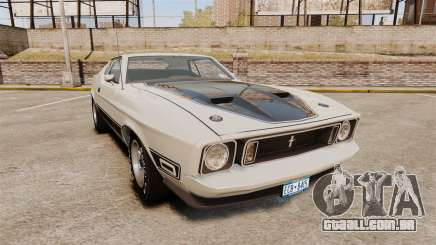 Ford Mustang Mach 1 1973 v3.0 GCUCPSpec Edit para GTA 4