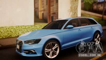 Audi S6 Avant 2014 para GTA San Andreas
