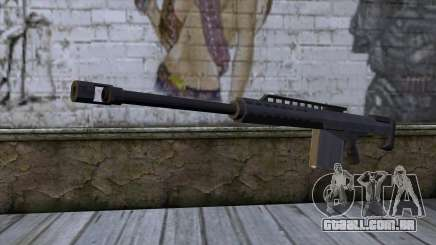 Heavy Sniper from GTA 5 para GTA San Andreas