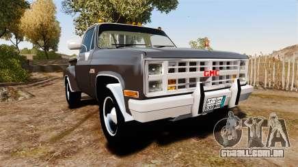 GMC 454 Pick-Up para GTA 4