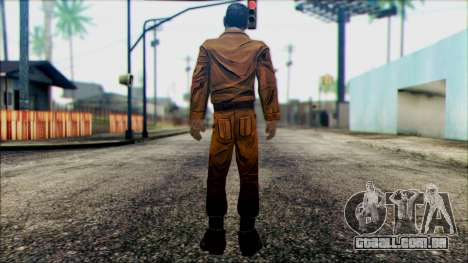 Danny from The Walking Dead: 400 Days para GTA San Andreas segunda tela
