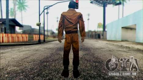 Danny from The Walking Dead: 400 Days para GTA San Andreas segunda tela