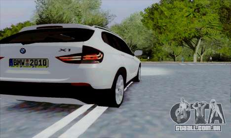 Bmw X1 para GTA San Andreas vista direita