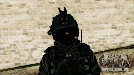 Soldados a bordo (CoD: MW2) v1 para GTA San Andreas terceira tela