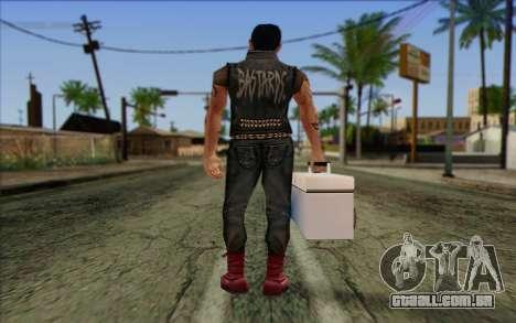 Claude in Pank Style para GTA San Andreas segunda tela
