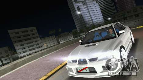 Subaru Impreza WRX STI 2006 Type 3 para GTA Vice City