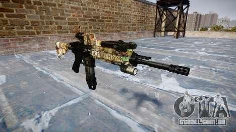Automatic rifle Colt M4A1 ronin para GTA 4
