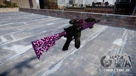 Automatic rifle Colt M4A1 festa de rock para GTA 4 segundo screenshot