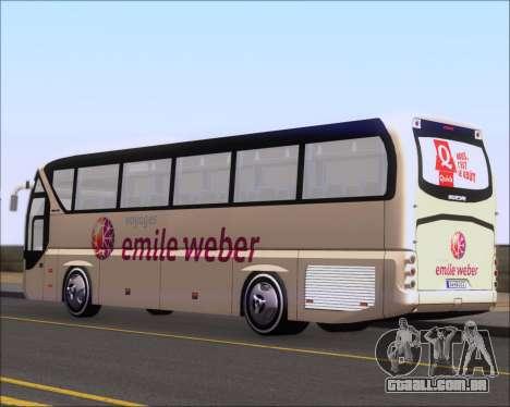 Neoplan Tourliner Emile Weber para GTA San Andreas vista direita