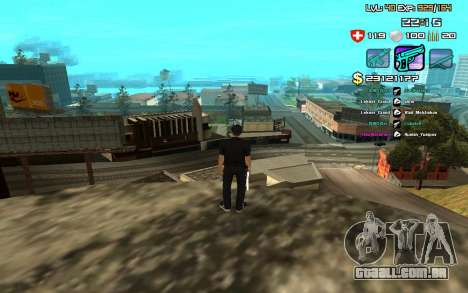 C-HUD by SampHack v.12 para GTA San Andreas segunda tela