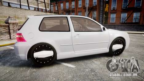 Volkswagen Golf Mk4 R32 Wheel2 para GTA 4 esquerda vista