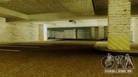 Novas texturas parque de Estacionamento da LSPD para GTA San Andreas