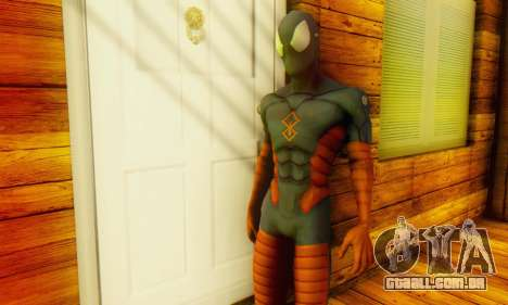 Skin The Amazing Spider Man 2 - DLC Anti-Electro para GTA San Andreas