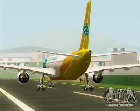 Airbus A330-300 Cebu Pacific Air para o motor de GTA San Andreas