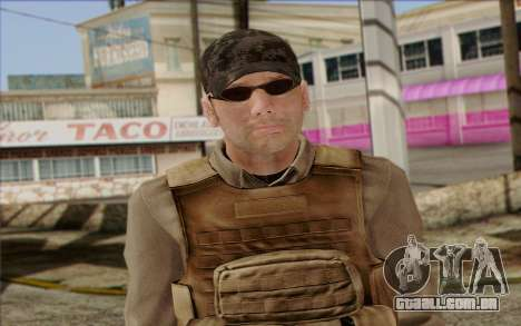 Frost from ArmA II: PMC para GTA San Andreas terceira tela