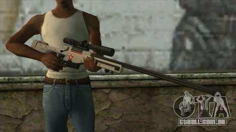 Sniper Rifle from PointBlank v2 para GTA San Andreas terceira tela