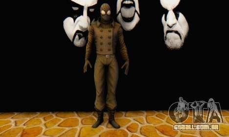 Skin The Amazing Spider Man 2 - DLC Noir para GTA San Andreas por diante tela