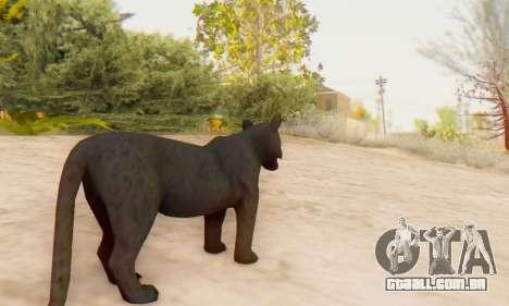 Black Panther (Mammal) para GTA San Andreas quinto tela