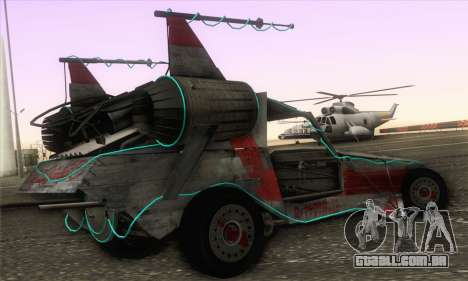 Space Docker from GTA V para GTA San Andreas esquerda vista