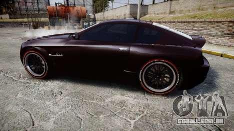 GTA V Schyster Fusilade v2 para GTA 4 esquerda vista