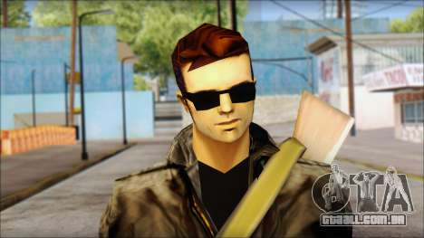Shades and Gun Claude v2 para GTA San Andreas terceira tela