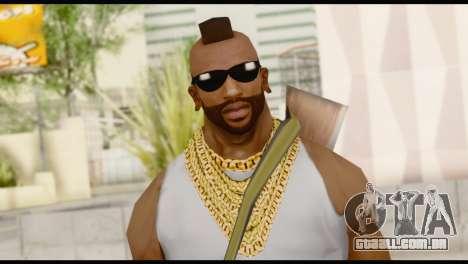 MR T Skin v8 para GTA San Andreas terceira tela