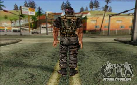 Os soldados de Rogue Warrior 3 para GTA San Andreas segunda tela