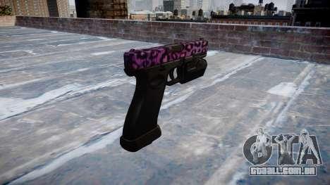 Pistola Glock de 20 party rock para GTA 4 segundo screenshot